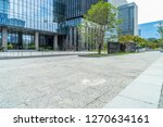 modern buildings and empty... | Shutterstock . vector #1270634161