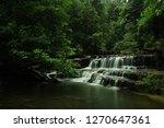 landscape photo view waterfall... | Shutterstock . vector #1270647361