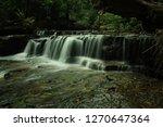 landscape photo view waterfall... | Shutterstock . vector #1270647364