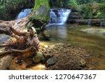 landscape photo view waterfall... | Shutterstock . vector #1270647367