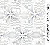 linear vector pattern ... | Shutterstock .eps vector #1270667011