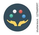 juggling   juggler   circus   | Shutterstock .eps vector #1270689097