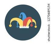 jester  hat  circus   | Shutterstock .eps vector #1270689154