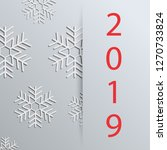 new year background with... | Shutterstock . vector #1270733824