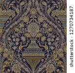 seamless pattern   paisley style | Shutterstock . vector #1270734187