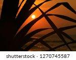 beautiful view from beach side... | Shutterstock . vector #1270745587