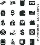 solid black vector icon set  ... | Shutterstock .eps vector #1270758991