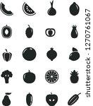solid black vector icon set  ...   Shutterstock .eps vector #1270761067