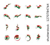 madagascar flag  vector... | Shutterstock .eps vector #1270784764