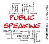 Public Speaking Word Cloud...