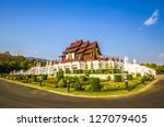 traditional thai architecture... | Shutterstock . vector #127079405