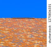 roof from multi colored... | Shutterstock . vector #1270836331