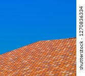 roof from multi colored... | Shutterstock . vector #1270836334