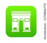 triumphal arch icon digital... | Shutterstock . vector #1270846774