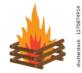 campfire  recreation... | Shutterstock .eps vector #1270874914