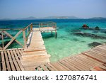 koh kham small island and wood... | Shutterstock . vector #1270876741