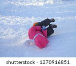 the child fell down from a... | Shutterstock . vector #1270916851