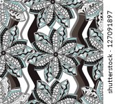 seamless vector texture with... | Shutterstock .eps vector #127091897