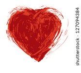 Hand Drawn Grunge Heart