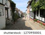 rye  uk  cobble street  with...   Shutterstock . vector #1270950001