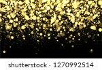 gold blurred border on black... | Shutterstock .eps vector #1270992514