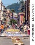 la orotava spain   june 2014.... | Shutterstock . vector #1271094784