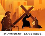 biblical vector illustration... | Shutterstock .eps vector #1271140891
