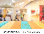 abstract blur image of people... | Shutterstock . vector #1271193127