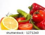 vegetables | Shutterstock . vector #1271260