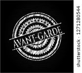 avant garde written with...   Shutterstock .eps vector #1271280544