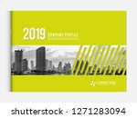 cover design for annual report... | Shutterstock .eps vector #1271283094