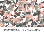 digital camouflage seamless... | Shutterstock .eps vector #1271286847