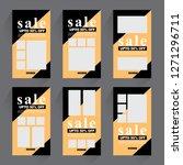 sale promotion banner    Shutterstock .eps vector #1271296711