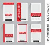 sale promotion banner    Shutterstock .eps vector #1271296714