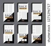 sale promotion banner    Shutterstock .eps vector #1271296717