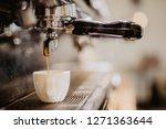 coffee espresso. espresso...   Shutterstock . vector #1271363644