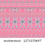 navajo american indian pattern... | Shutterstock .eps vector #1271370697