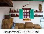 vintage decoration in the farm | Shutterstock . vector #127138751