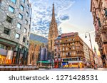 Stephansplatz  View On  The St. ...