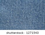 blue denim texture - real macro, great sharpness and details - stock photo