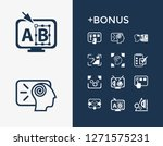 creative process icon set and...