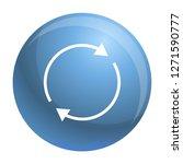 round circle arrow icon. simple ...