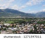 vaduz  liechtenstein on august... | Shutterstock . vector #1271597011