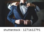 preparations for the wedding....   Shutterstock . vector #1271612791