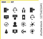 service icons set with magic...   Shutterstock .eps vector #1271621641