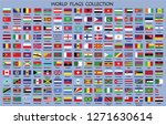 world flags collection with... | Shutterstock .eps vector #1271630614