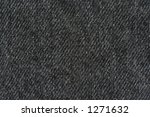 black denim texture   real... | Shutterstock . vector #1271632