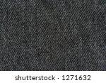 black denim texture   real... | Shutterstock . vector #1271632