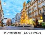 graben  a famous pedestrian... | Shutterstock . vector #1271649601