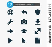 user icons set with protect ...